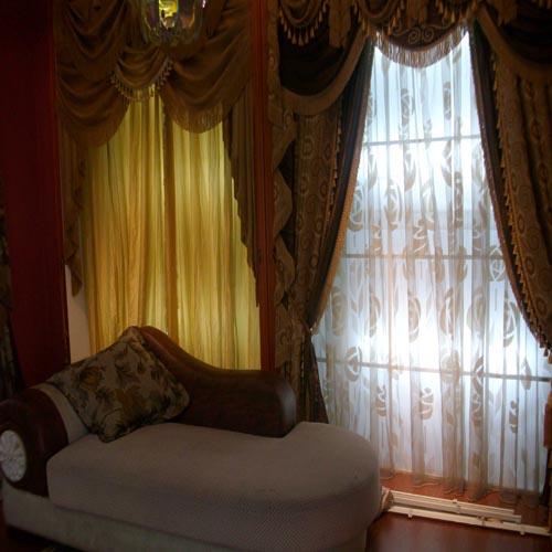 客厅小窗帘-尚品布艺窗饰城-奉化尚品布艺产品分类
